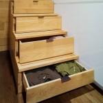 10-sertare ascunse in scara de interior