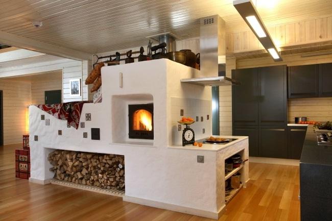 10-soba cu pat plita si cuptor in amenajarea unei bucatarii moderne