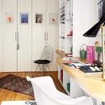 10-spatiu de lucru ingust living apartament Madrid