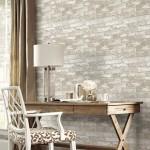 10-tapet decorativ imitatie caramida decor birou clasic