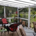 10-terasa acoperita cu pergola din pvc si policarbonat amenajare curte mica