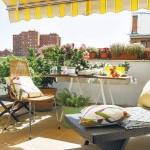 10-terasa cocheta si plina cu flori apartament duplex e 45 mp