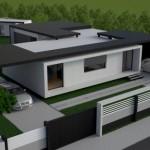 O casa moderna din structura metalica gata in timp record – Vision House – un proiect romanesc