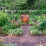 11-alei din caramida decor gradina rustica frumoasa