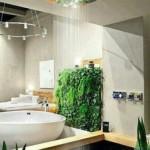 11-baie frumoasa cu dus fix montat pe tavan cu efect de ploaie