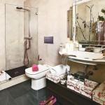 11-baie moderna accente vintage retro apartament Madrid