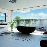 11-baie moderna luminoasa si aerisita decor minimalist Feng Shui