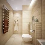 11-baie moderna lunga si ingusta finisata in crem si bej