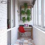 11-balcon cu birou si biblioteca amenajare garsoniera mica moderna
