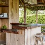 11-bar bucatarie rustica in aer liber cabana din lemn casa de vacanta brazilia