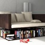 11-canapea compacta cu design modern prevazuta cu spatiu de depozitare carti sub sezut