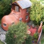 11-casa in forma de gheata noua zeelanda vedere de sus