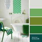 11-combatii cromatice decor din mai multe nuante de verde
