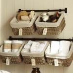 11-cosuri impletite pentru organizarea maruntisurilor si prosoapelor din baie