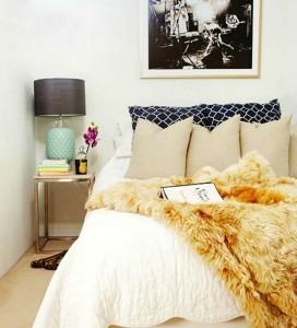 11-cuvertura latoasa cu fire lungi decor pat dormitor