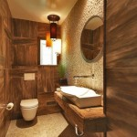 11-decor si finisaje rustice in amenajarea unei bai moderne