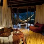 11-dormitor cu terasa casa de lux din bambus Bali Indonesia