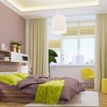 11-dormitor modern extins in balconul alaturat