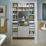 11-dulap deschis cu multe rafturi depozitare produse baie