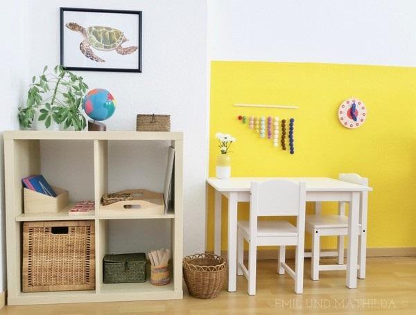 Amenajare Camera Montessori : 11 etajera pentru organizarea jucariilor camera copii metoda