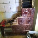 11-etapa reparare soba casa de la tara a lui Vlad