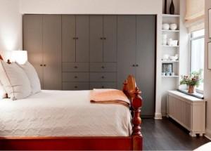 11-exemplu de asezare a dulapului de haine intr-un dormitor matrimonial
