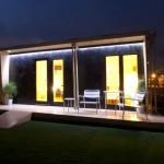 11-exterior casa modulara prefabricata lemn 33 mp vivood noaptea