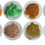 11-fibre textile si microparticule din compozitia tapetului lichid