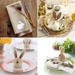 11-idei decorative cu iepurasi pentru masa de Pasti