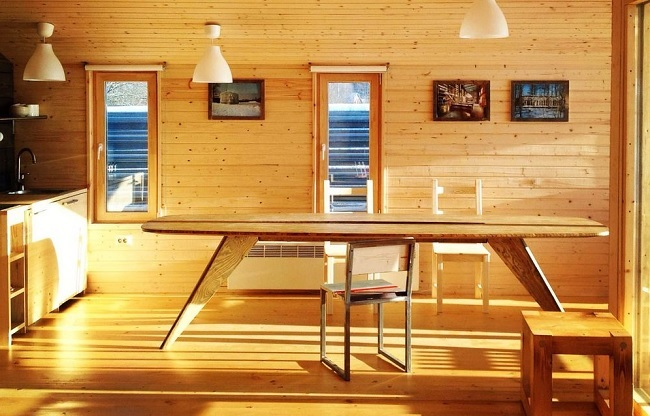 11-interior casa modulara din lemn model DublDom80