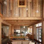 11-interior rustic casa decorat cu lemn din palet reciclat