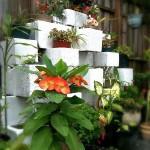 11-jardiniera pe mai multe nivele din boltari din beton