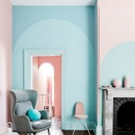 11-living modern retro decorat in bleu Limpet Shell si ros Rose Quartz