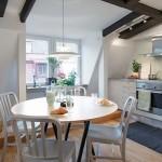 11-loc de luat masa bucatarie open space apartament 3 camere mansarda