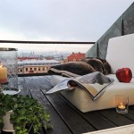 mini terasa apartament 3 camere stil scandinav mansarda