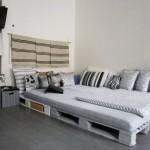 11-mobila dormitor pat din paleti de lemn