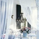 11-mobilier din fier forjat decor terasa amenajata in stil romantic shabby chic