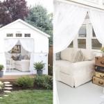 11-model de casa alba din lemn construita pentru musafiri in gradina