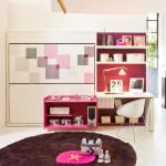 11-model mobila camera 2 copii cu doua paturi suprapuse rabatabile la perete
