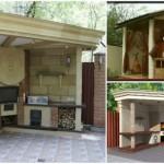 11-modele de bucatarii de exterior cu gratar si cuptor