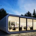 11-modul de birouri Coodo constructie prefabricata fara etaj
