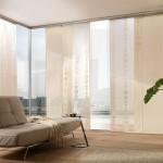 11-panouri japoneze crem transparente decor living modern