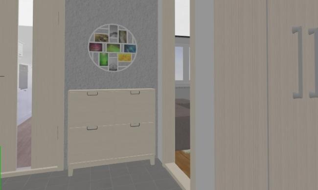 11-pantofar hol intrare apartament in dreapta dulap de colt