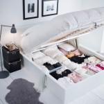 11-pat modern cu lada de depozitare sub saltea