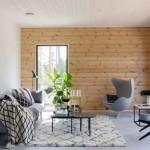 11-pereti placati cu lemn in amenajarea unui living scandinav