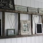 11-polita decorativa perete din scara veche