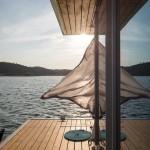 11-punte din lemn casa plutitoare Floatwing by Friday