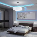 11-scafa rigips cu iluminat integrat decor dormitor modern