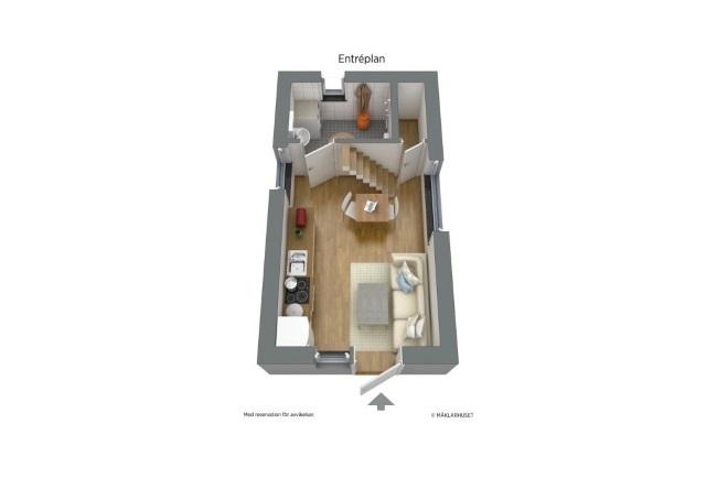 11-schita interior casa mica 19 mp randare 3D