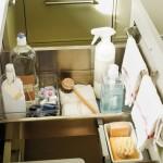 11-sertar compartimentat mobila bucatarie pentru ustensile si produse de curatat
